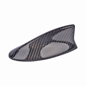 1pcs Real Carbon Fiber Black Roof Shark Fin Antenna Cover For 14 20 Rx450h Rx350