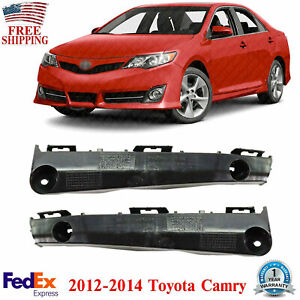 Front Face Bar Retainer Bracket Brace Mounting Kit For 2012 2014 Toyota Camry