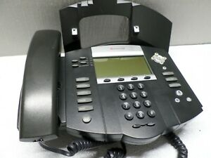 Polycom Soundpoint Ip 550 Ip550 Sip 2201 12550 001 Phone W Stand Handset