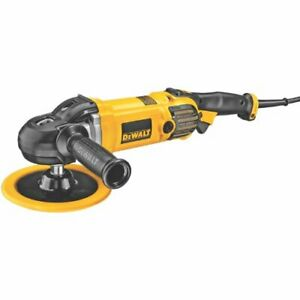 Dewalt Buffer polisher Variable Speed Soft Start 7 inch 9 inch dwp849x