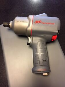 Ingersoll Rand Titanium 2135timax 1 2 drive Air Impact Wrench New Quiet Tool Qp