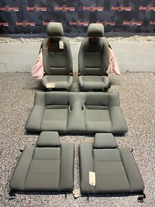 2013 Ford Mustang Gt Oem Coupe Grey Cloth Seats Front Rear blown Bags