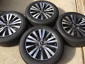New 4 2021 18 Oem Mitsubishi Outlander Gt 3 0 Factory Wheels Rims Tires Se Es