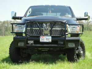 New Ranch Style Front Bumper 10 11 12 13 14 15 16 17 18 19 Dodge Ram 2500 3500