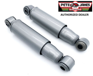 Pair Plain Hydraulic Shock Absorbers For Street Hot Rod Pete Jakes