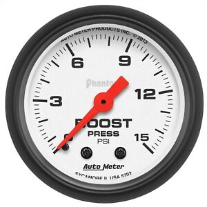 Autometer 5702 Phantom Mechanical Boost Gauge