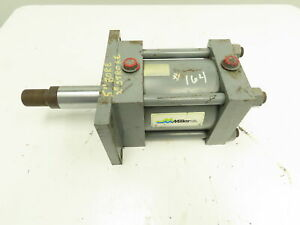 Miller H61r2c Hydraulic Double Acting Cylinder 5 Bore 3 Stroke 2330 Psi Flange