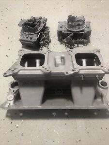 Edelbrock Sbc Street Tunnel Ram Base Top