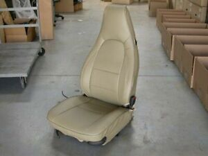 Iggee Beige S leather Front Seat Covers For Porsche 944 Sport Seats
