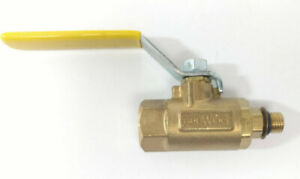 Parker V510p 4 Male Female Brass In Line Ball Valve 600wog 7 16 20 10 Pieces