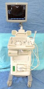 Ge Logiq P5 Flat Screen Ultrasound Machine W E8c 4c Probe Transducer