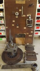 Rare Nuday Sw500 a Ford Tractor Essential Service Tools