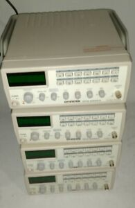 Lot Of 4 Gw Instek gfg 8255a 0 5hz To 5mhz Function Frequency Generator