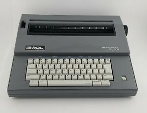 Smith Corona Electric Typewriter Sl105 With Cover