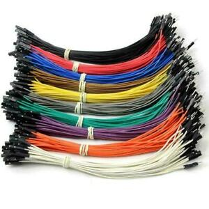 Pin Header Dupont Wire Color Jumper Male To Female Cable For 20cm F5v8