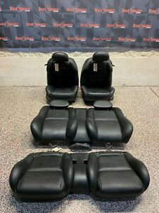 2004 Pontiac Gto Oem Black Leather Front Rear Seats