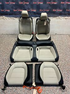 2015 Ford Mustang Gt Oem Coupe Leather Front Rear Seats