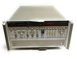 Hp 8673d Synthesized Signal Generator 50mhz 26 5ghz W Opt 004 Rear Panel Rf Out