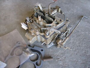 1968 Cadillac 472 500 Rochester 4 Barrel Quadrajet Carburetor Carb 7028237 Gm