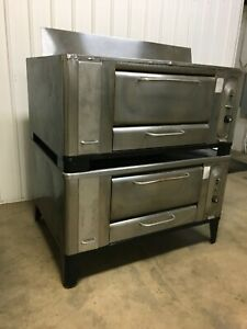 Blodgett 1000 Double Stack Pizza Ovens With Stones