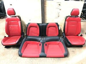 18 19 Ford Mustang Gt 5 0l Seats Full Set Front Rear Seat Oem
