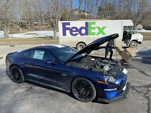 2018 2019 2020 Roush Mustang Gt 5 0l Supercharger Kit Phase 2 750hp 422184 New