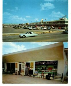 2 Orlando Florida Postcards circa 1960 s T bird Mall Auction Colonial Dr