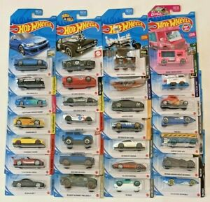 2021 Hot Wheels Cars With Newest Cases You Pick New Cars Added 8 2