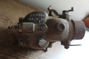 Very Old Zenith Carburetor B9