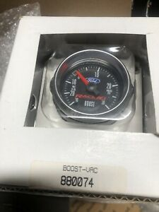 Autometer 880074 Ford Racing Series Boost vac pressure Gauge 2 1 16 Boost Vac