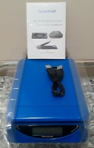 Brecknell Ps25 Electronic Usb Or Battery Blue Postal Scale 25 Lb Capacity New