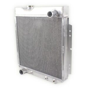 3 row Aluminum Radiator For 1965 1966 Ford Mustang 302 351 390 428 429 V8 Swap