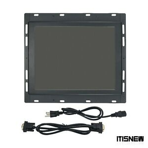 Industrial Lcd Monitor 9 pin Monochrome Display For Haas 28hm nm4 93 5220c Vf1