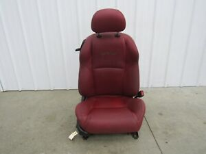 2004 2006 Pontiac Gto Oem Red Leather Rh Passenger Front Power Seat U61