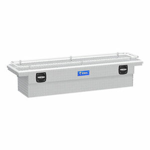 Uws Bright Aluminum 72 Secure Lock Crossover Truck Tool Box With Low Profile