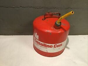 Vintage International Harvester 5 Gallon Gas Can Sign Ih 999 306 R1 Tractor