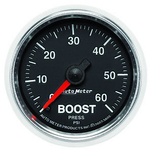 Autometer Gauge Boost 2 1 16 60psi Mechanical Gs