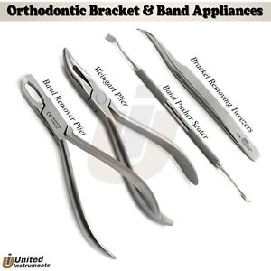 Ortho Band Pusher Seater Bracket Tweezers Weingart Plier Posterior Band Remover