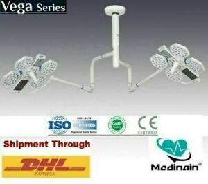 New Double Satellite Ceiling Surgical Lights Led Ot Lamp Operation Theater Light