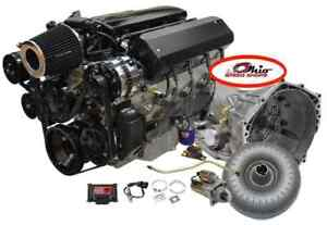Dyno Tested Ls3 540hp Engine With 4l70e Trans Package