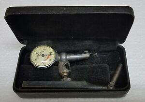 276 Vintage Starrett Last Word No 711 f Dial Indicator Made In Usa Very Nice