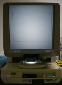 Bell Howell Abr 2000 Microfiche Reader