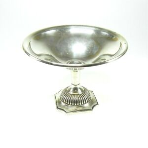 Vintage Reed Barton Sterling Silver Compote Footed Candy Nut Dish Bowl 34