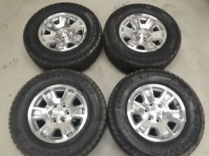 Chevrolet Gmc Silverado 1500 2014 2019 Machined 17 Oem Wheels Tires