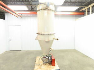 Horizon Systems 25rfc9iii Filter Receiver Dust Collector Hopper W rotary Airlock