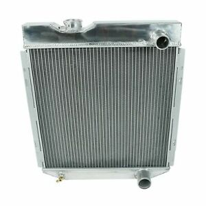Fit 1960 1966 Ford Mustang Falcon Comet V8 Mt 3 Row Aluminum Cooling Radiator