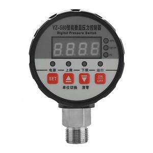 Digital Pressure Switch Controller 0 2mpa 0 5 fs Accuracy 4 Port For Water