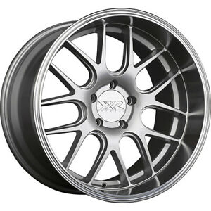 4 Staggered 19x10 5 19x9 Xxr 530d Silver 5x4 5 20 20 Wheels Rims