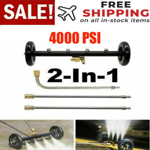 Pressure Washer Undercarriage Cleaner 16 Inch Surface 4000psi Underbody Car Wash