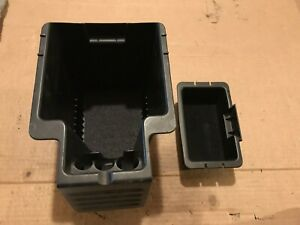 Ford Escape Hybrid Center Console Storage Bin Tray Insert Pair 08 09 10 11 12